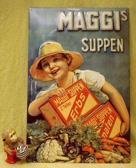 Schön MAGGI Blechschilder   Schöne Werbemotive Der Jahrhundertwende Für Die Küche