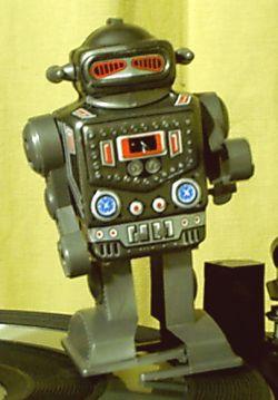 Blech roboter der 60er bis 70er im for Kinderzimmer 70er jahre
