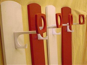 Garderobe der 70er wandgarderobe schuhschrank co for Garderobe 70er design