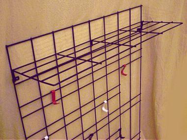 Garderobe Gitter metallgitter garderoben der 60er