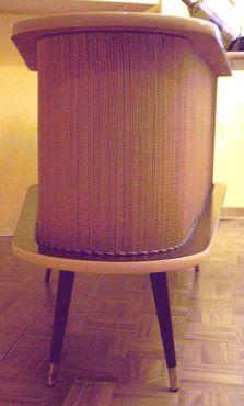 nierentisch mit barfach der 50er. Black Bedroom Furniture Sets. Home Design Ideas