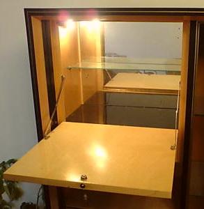 MUSTERRING Wohnzimmerschrank Im Mid Century Design