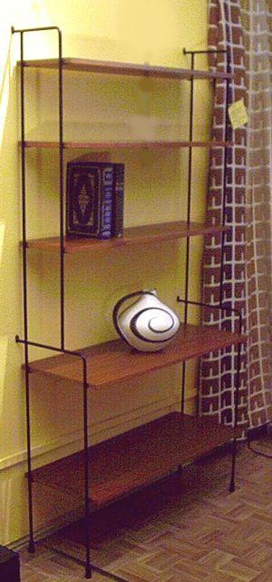 wand regalsysteme der 60er. Black Bedroom Furniture Sets. Home Design Ideas