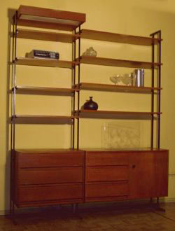 sekret re und b cherschr nke der 60er. Black Bedroom Furniture Sets. Home Design Ideas