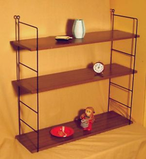 wandregal 60er bestseller shop f r m bel und einrichtungen. Black Bedroom Furniture Sets. Home Design Ideas