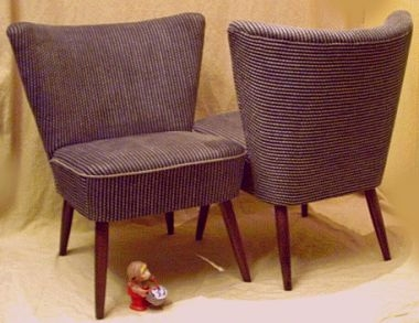 clubsessel cocktailsessel der 50er. Black Bedroom Furniture Sets. Home Design Ideas