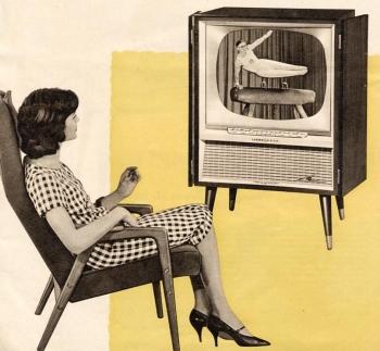 fernsehsessel der 50er. Black Bedroom Furniture Sets. Home Design Ideas