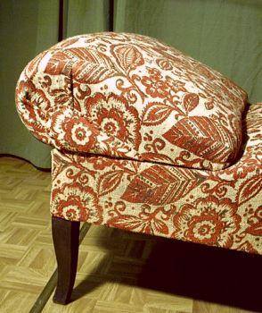 rote recamiere. Black Bedroom Furniture Sets. Home Design Ideas
