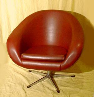 schalensessel der 60er 70er. Black Bedroom Furniture Sets. Home Design Ideas