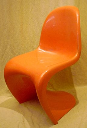 Plastic Chair 50er Bis 70er Jahre