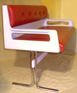 eka sitzbank die stylische k chenbank im space age design. Black Bedroom Furniture Sets. Home Design Ideas