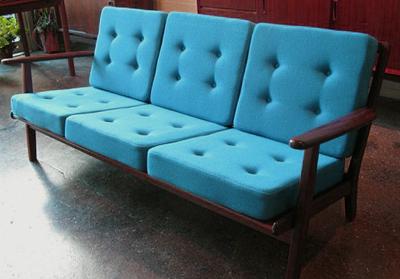 Couch Aus Dänischer Teak Möbel Produktion Der 60er Jahre