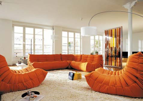 togo sofa sessel von ligne roset. Black Bedroom Furniture Sets. Home Design Ideas