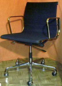 charles eames alu chair von vitra. Black Bedroom Furniture Sets. Home Design Ideas