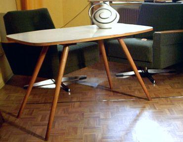 ess couchtische der 50er jahre. Black Bedroom Furniture Sets. Home Design Ideas