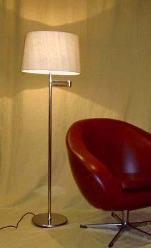 sixties clubstehleuchte mit schwenkarm. Black Bedroom Furniture Sets. Home Design Ideas