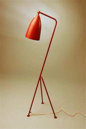 grasshopper leseleuchte sinnbild der 50er. Black Bedroom Furniture Sets. Home Design Ideas