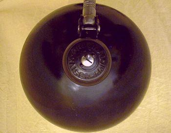schwarze kaiser schreibtischlampe mit schwanenhals. Black Bedroom Furniture Sets. Home Design Ideas
