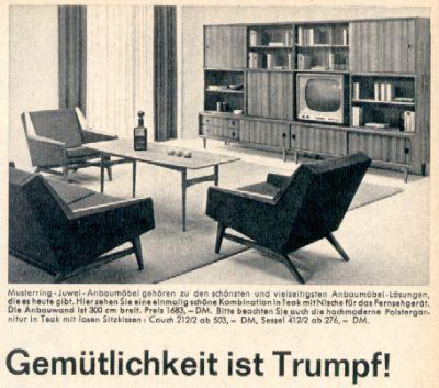 Wohnstil   60er Jahre