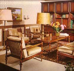 Wohnstil 60er jahre for 70er wohnzimmer