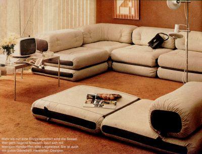 Wohnstil 70er jahre for 70er wohnzimmer